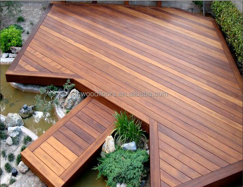 water resistant exterior merbau solid wood floor