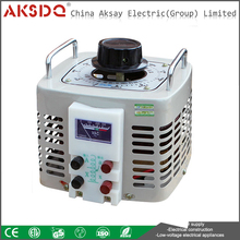 TDGC2 Single Phase AC Contact Type Full Automatic Voltage Regulator 5KVA For Household Appliances