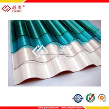Polycarbonate Corrugated Sheet Corrugated Roof Corrugated Plastic Sheet