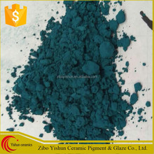 High quality peacock green third firing ceramic pigment for tile