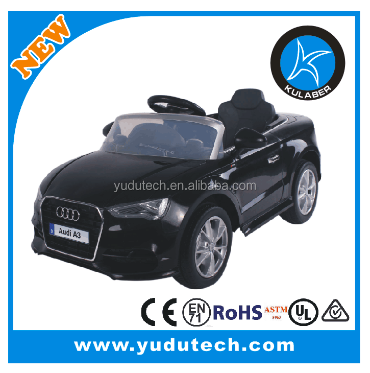 Licensed Audi A3 ride on car,remote control baby electric car,kids battery powered ride on toys