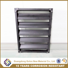 Whosale Galvanizing Iron Security window Shutter, Window Blinds,Louver Window