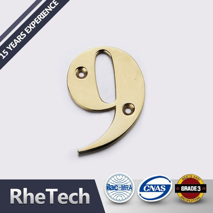 Luxury Quality Wholesale Price Wooden House Numbers