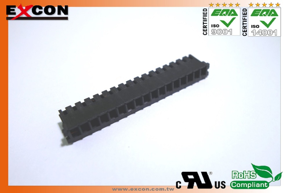 "2.5mm(.098"") Excon2516 series for FCI Housing,Wafer,Terminal connector"