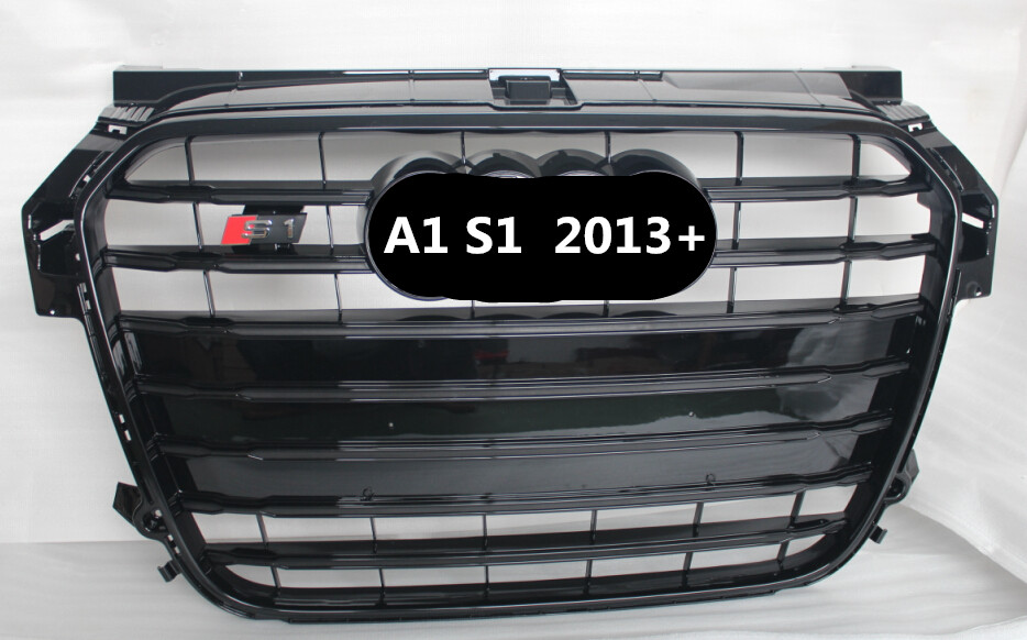 car grille ABS front grille for audi A1 grill 2013up/high quality S1 grille