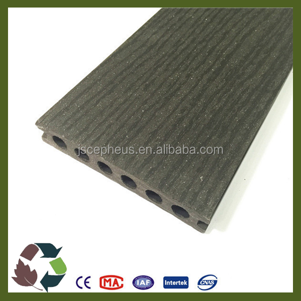 New Tech Wood Plastic Composite WPC Decking Board