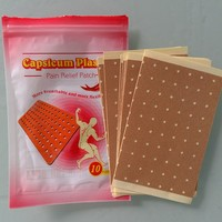 factory direct supply OEM 10patchs Plaster Pepper Capsicum Plaster Chili Plaster