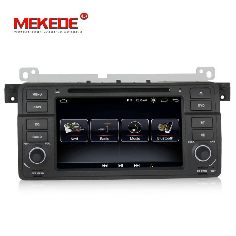 Quad core Android 8.0 Car dvd gps navigation <strong>player</strong> for E46 M3