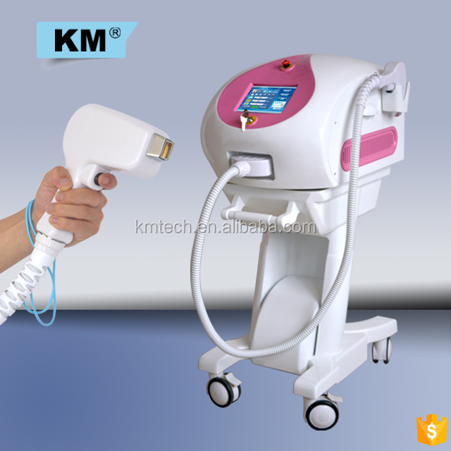Professional manufacturer back diode laser hair removal review , 808nm laser cosmetic machine