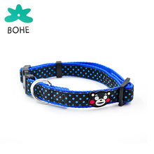 LUVP+K-KUMAMON smart dog collar dot design dog collar buckle