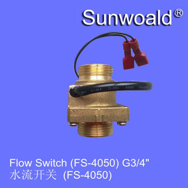 "DN20 G3/4"" Heater Magnetic water brass flow switch"