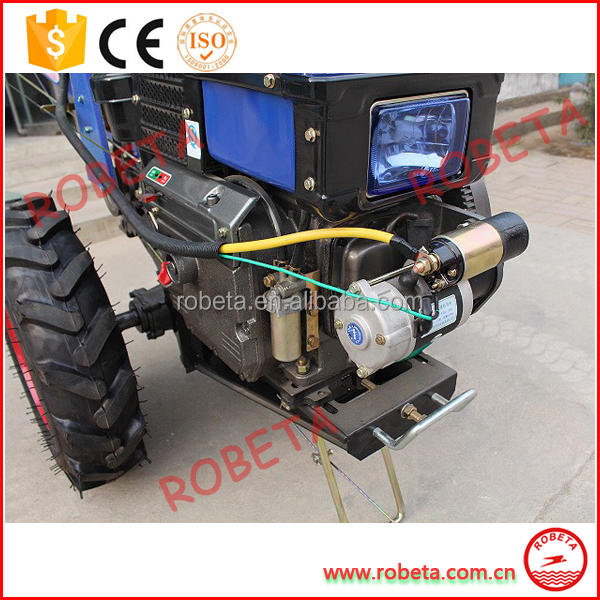 10hp agricultural mini power tiller trailer price