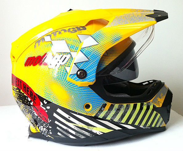 double visor ATV helmets