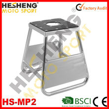 heSheng Particular White Motocycle Middle Square Stand