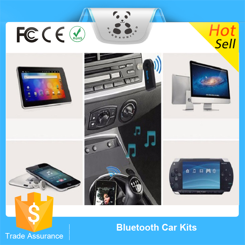 2016 China new product factory supply bluetooth handsfree car kit bluetooth adapter for car aux shipping from China