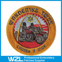 Clothes Brand Logo for the Bikers , Embroidery Logo Design no minimum