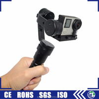 Guangzhou portable mini handheld 3 axis camera video gimbal stabilizer for go pro