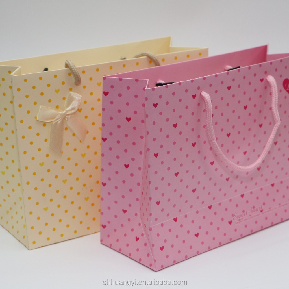 Fashion design wedding greeting paper gift bag