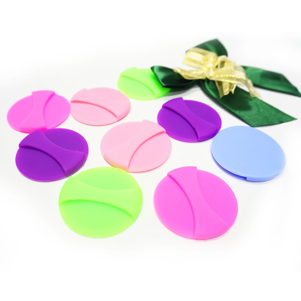 Free sample silicone puff cosmetic sponge puff for liquid foundation BB/CC cream makeup