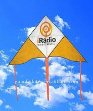 single line large delta kite