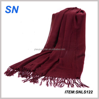 Good quality fashionable scarf cheap cotton shawl