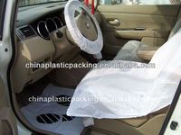 Transparent disposable plastic car seat cover exported to South Africa