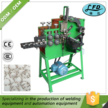 New Product Metal Brooch /Ring/Buckle Making Processing Machine Sale Price