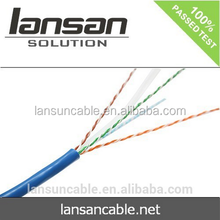 LANSAN utp cat6 wire cable Fluke pass