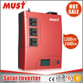 intelligent portable 220v ac 24v dc inverter 2400VA in solar power system