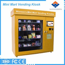Phone accessories vending machine touch screen cell phone selling machine