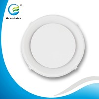 Cheaper Plastic Register Vents Cover Round Ceiling Diffuser in White Color for air conditioning