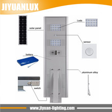 40W excellent motion sensor integrated all in one solar led street light domestic solar lights