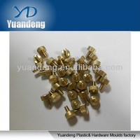 Knurled head thumb screws/ Brass parts/ Copper screws