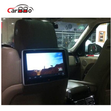 Car Seat Back Entertainment System, 10.1 Inch Touch Screen Android 6.0 digital headrest tft lcd monitor