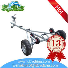 Brand new long boat trailers made in China