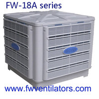 big size duct water evaporative air cooler