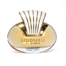 New item gold shell attractive beautiful women perfume
