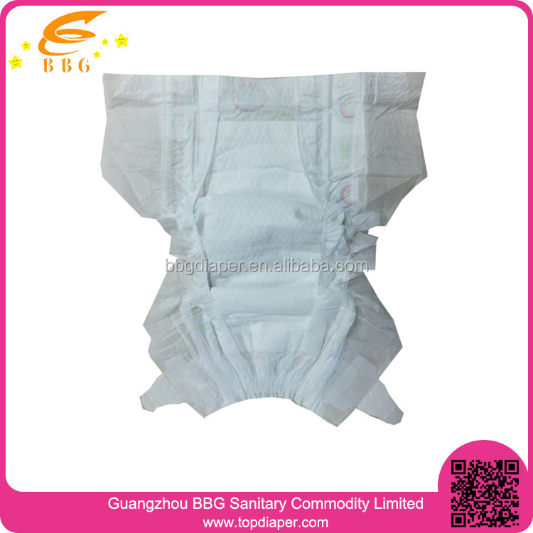China Factory Wholesale Disposable Baby Cloth Diaper