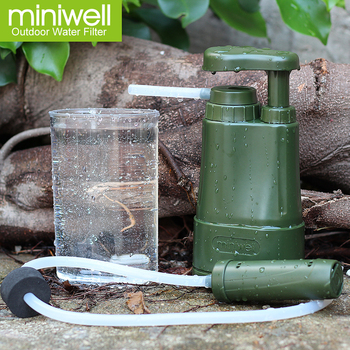 portable water filtration for army personnel military soldier hydrate in backpack