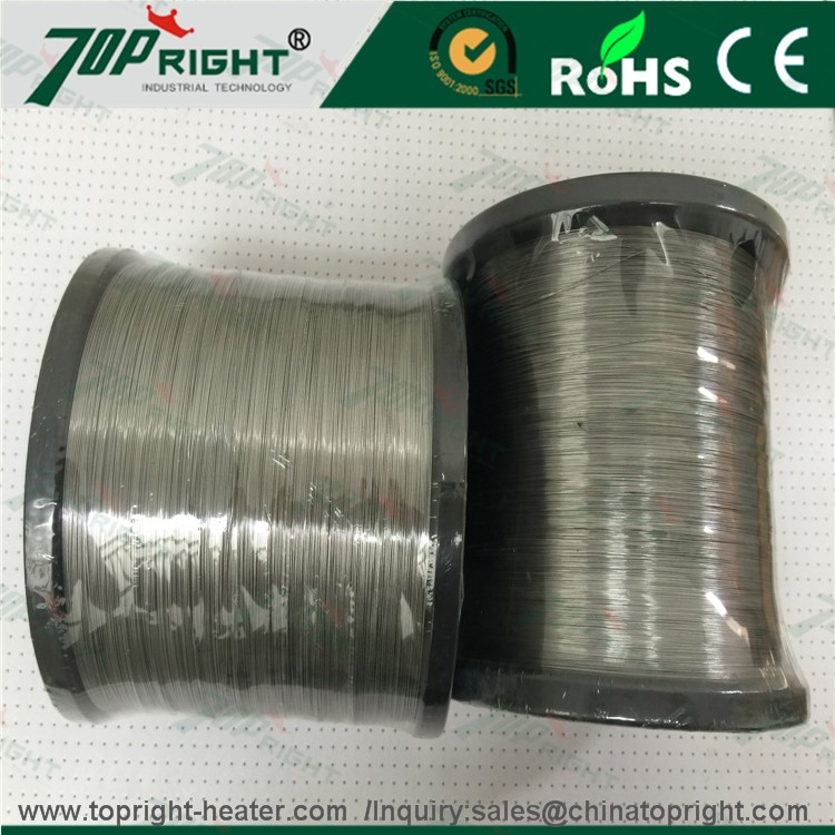Nichrome Heat high electric Resistant Alloy Wire Ni80Cr20