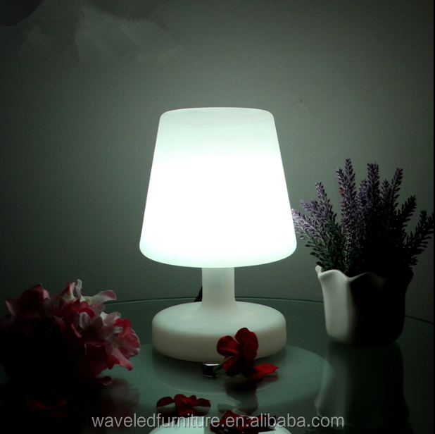 Modern decorative led lamp Rechargeable battery portable led lighting table lamp
