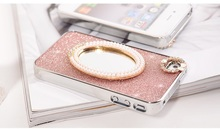 Luxury Bling Mirror Crystal Diamond Case for iPhone 4 4S 5