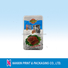 Plastic food packaging vacuum bag for packing cooked duck wings