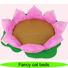 Cute fancy heated cat beds