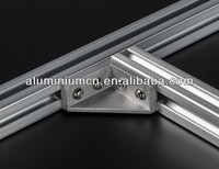 Powder coating and anodized aluminum sign frame extrusion
