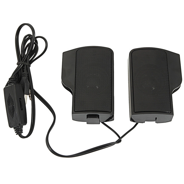 2017 Hot Wall-mounted Laptop computer External Speakers Black