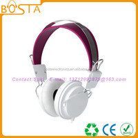 Stereo noise cancelling headphone fancy computer accessory headset