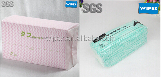 Hydro-entangled dry disposable non woven handy wipes