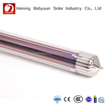 2015 China three layers corrugated solar vacuum tube, solar collector tube, solar water heater parts
