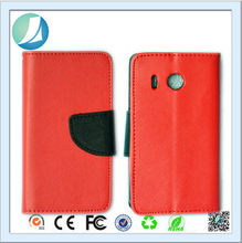 Wholesale Price Customized Products Trade Assurance Leather Flip Cell Phone Cover for Huawei Ascend y300